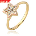David Emanuel White Topaz Star Ring *SALE*