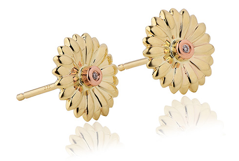 Flower Diamond Stud Earrings *SALE*
