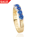 18AB100/P with blue sapphires *SALE*