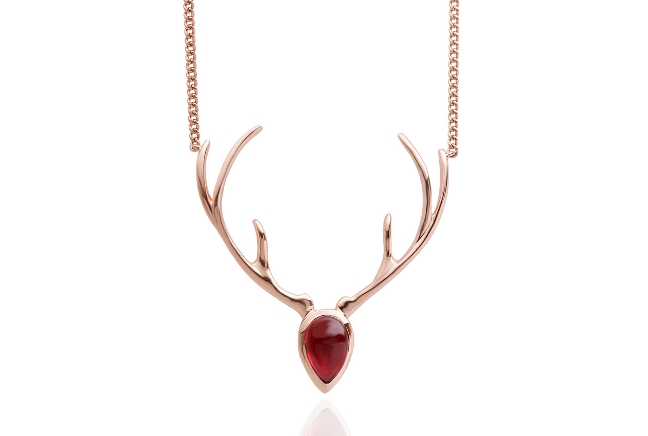 Red Hart Necklace *SALE*