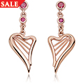 Heartstrings Drop Earrings