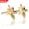 Ivy Leaf Stud Earrings *SALE*
