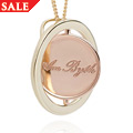Love Circles Am Byth Pendant *SALE*