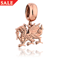 Welsh Dragon® Milestones® Bead Charm