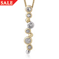 14ct Yellow & White Gold Clogau Celebration Pendant