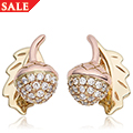 Royal Clogau Oak Stud Earrings