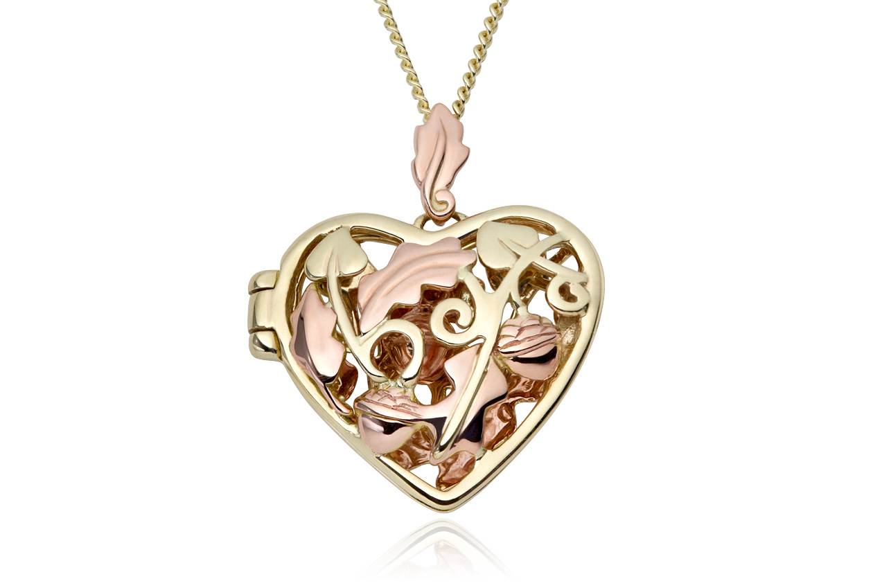 Royal Clogau Oak Locket