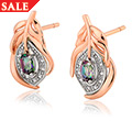 Peacock Throne Topaz Stud Earrings *SALE*