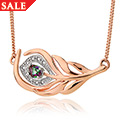 Peacock Throne Topaz Necklace *SALE*