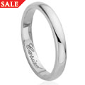 Platinum & 18ct Windsor Collection Wedding Ring (3mm)