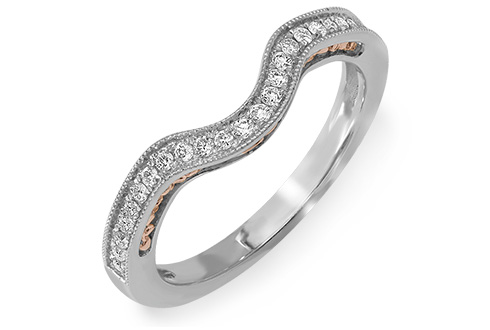 Platinum & 18ct Sonatina Wedding Ring
