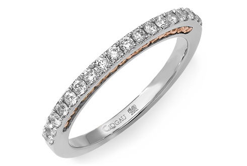 Platinum & 18ct Aria Wedding Ring