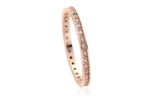Happiness Affinity Stacking Ring