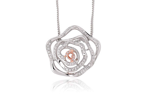 Royal Roses Diamond Pendant *SALE*