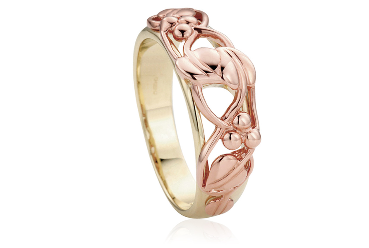 Clogau Silver And Gold Rings