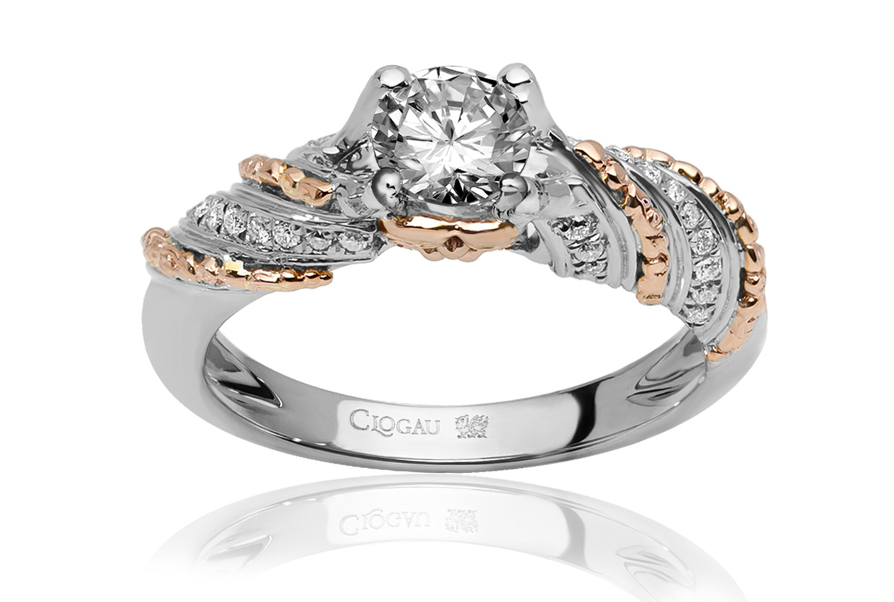ITEM DISCONTINUED Seraphina Engagement Ring DISCV18WF50SI1JR