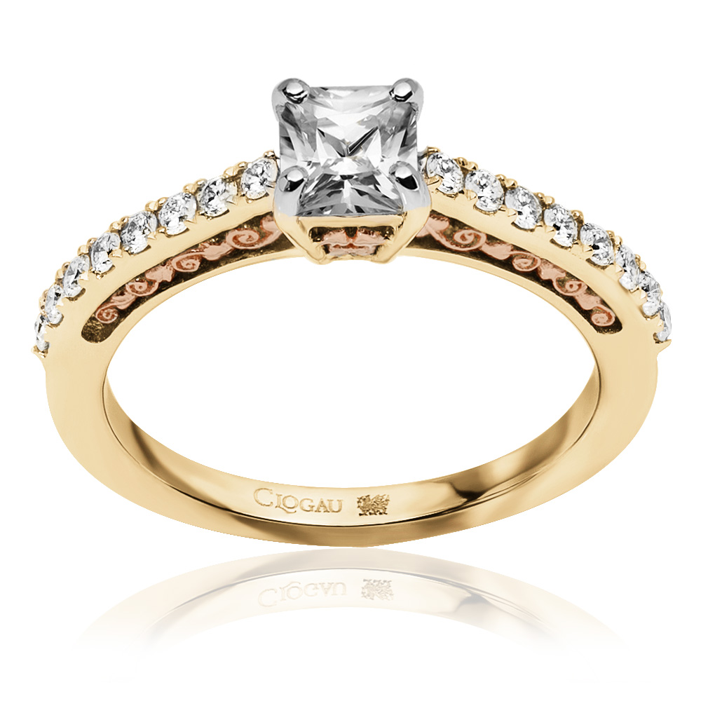 Welsh Rose Gold Engagement Rings