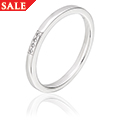 9ct White Gold Diamond Ring *SALE*