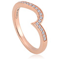 9ct Rose Gold True Romance Engagement Ring