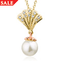 Yellow Windsor Pearl Pendant