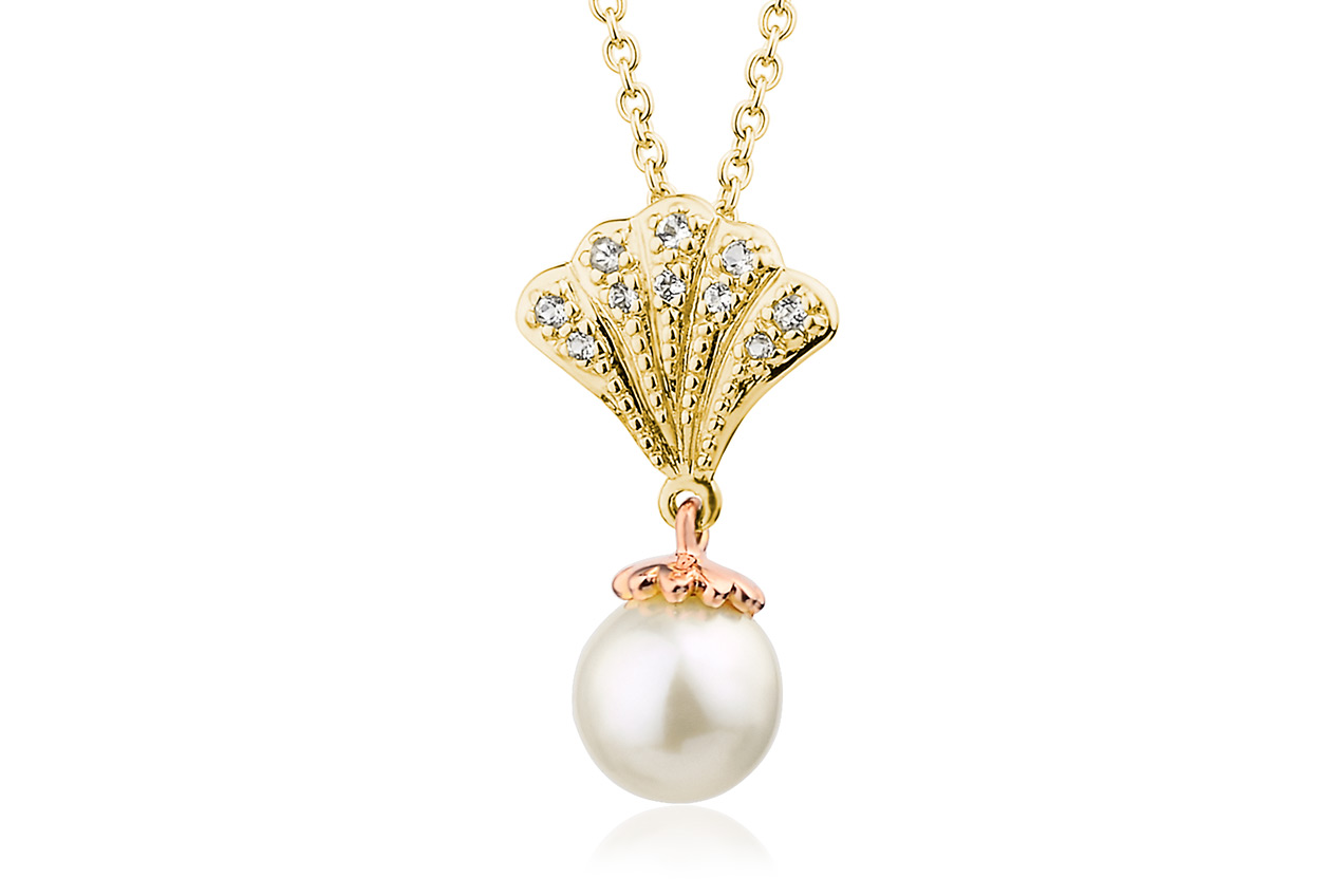 Gold Yellow Windsor Pearl Pendant