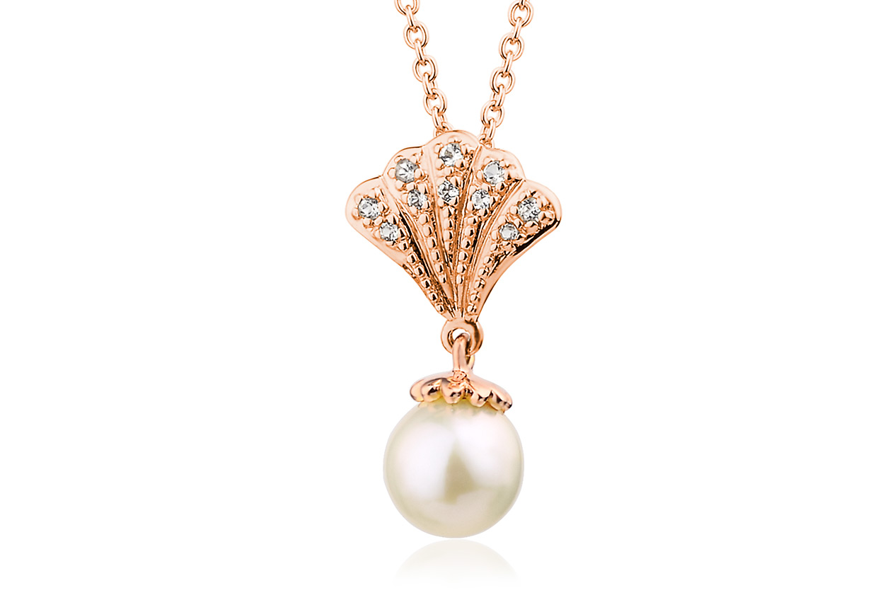 Rose Windsor Pearl Pendant