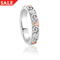 Clogau Tree of Life 4mm Band Ring *SALE*