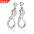 Eternity Diamond Earrings *SALE*