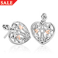 Kensington Heart Earrings *SALE*