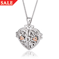 Kensington Heart Lock Locket *SALE*