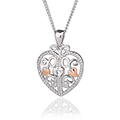 Kensington Heart Lock Pendant *SALE*