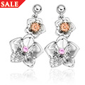 Orchid Earrings *SALE*