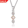 Clogau Princess White Topaz Pendant *SALE*