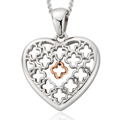 Tudor Court Heart Pendant *SALE*