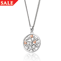 Tree of Life White Topaz Pendant *SALE*