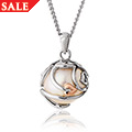 Tree of Life Caged Pearl Pendant *SALE*