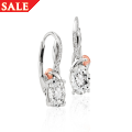 Tree of Life White Topaz Earrings *SALE*