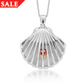 Shell Mother of Pearl Locket