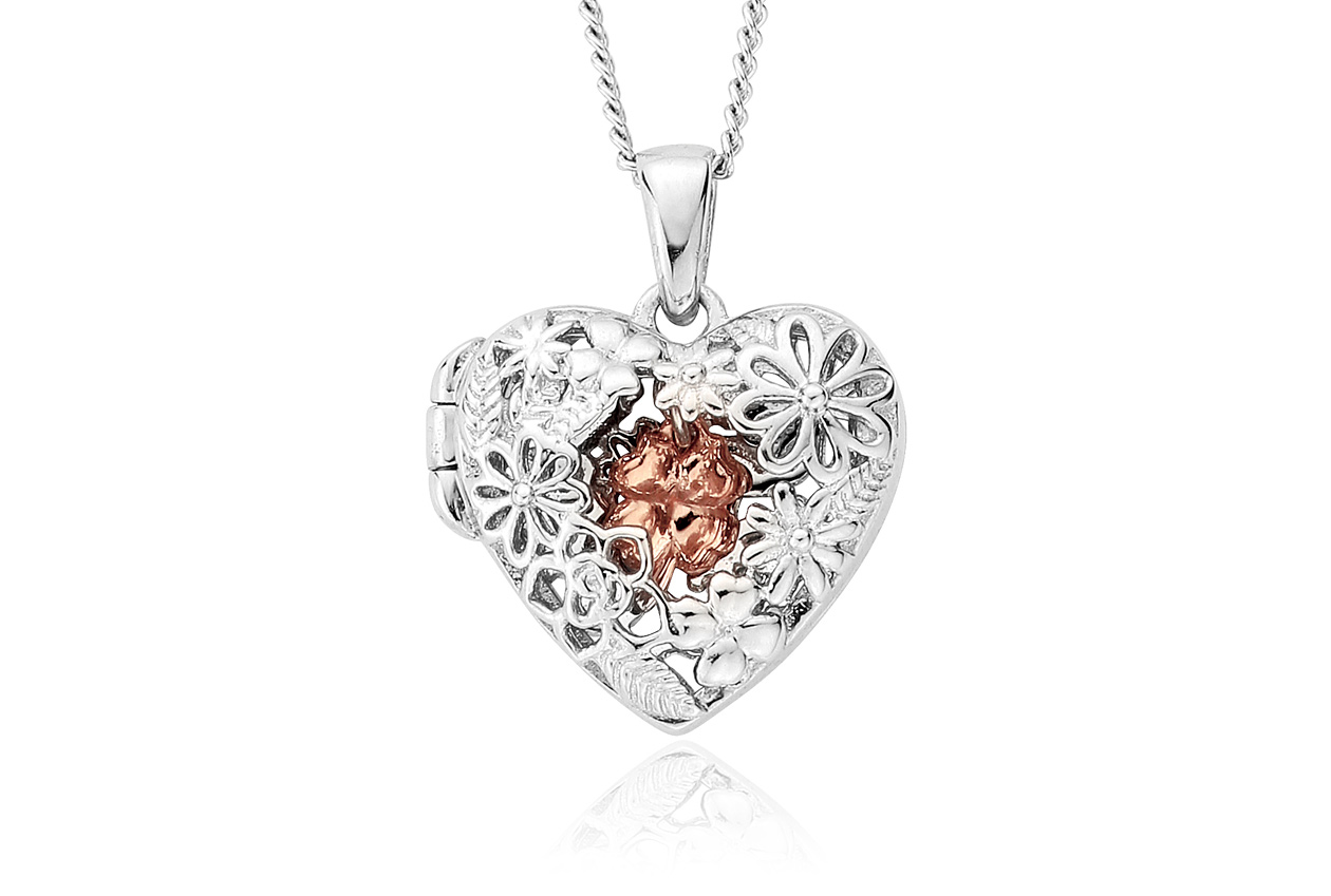 Meadow Heart Locket (SMALL)*SALE*