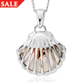 Mother of Pearl Heart Pendant *SALE*