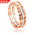 9ct White and Rose Gold Tree of Life Ring *SALE*