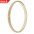 Yellow & 9ct Rose princess Bangle *SALE*