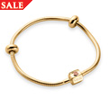 Yellow & Rose Gold Milestones Bracele