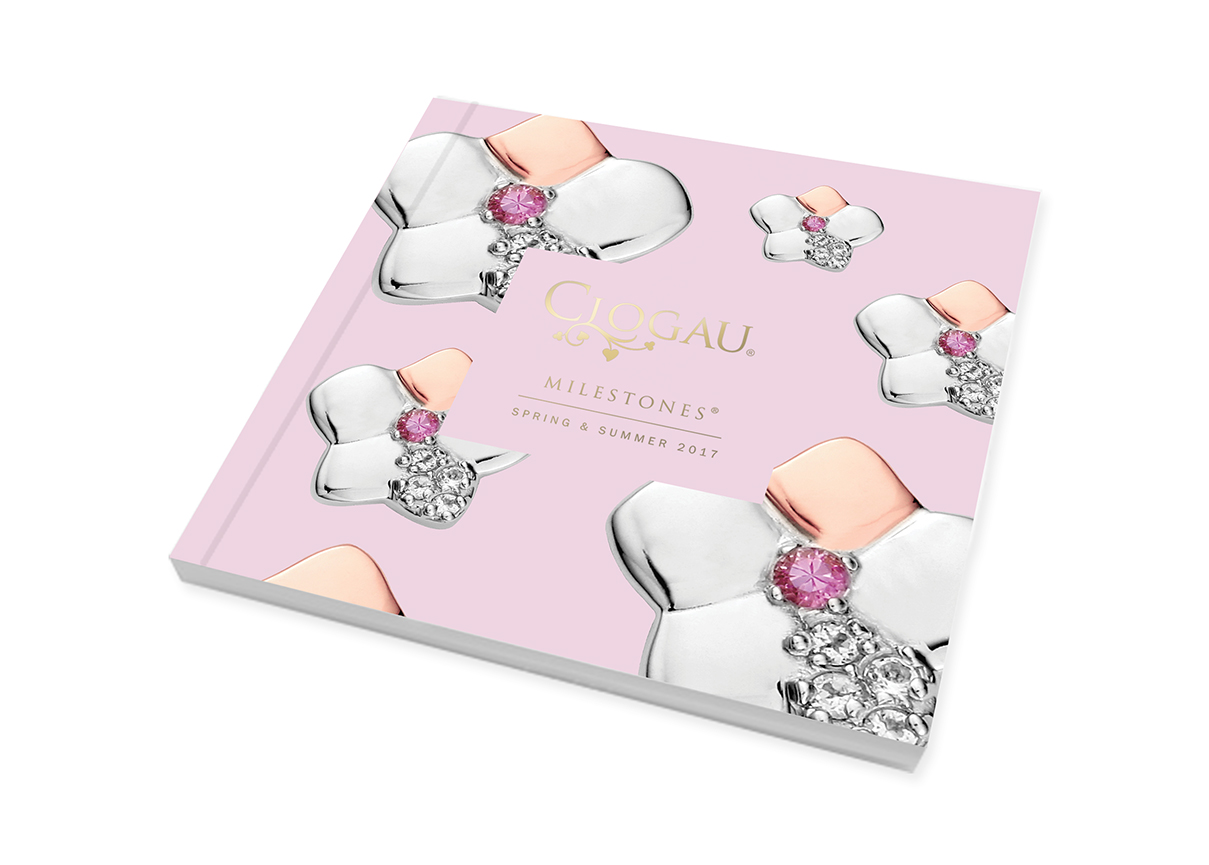 Clogau Spring Summer 2017 Bead Charm mini brochure