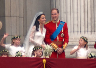 Prince William and The Duchess of Cambridge