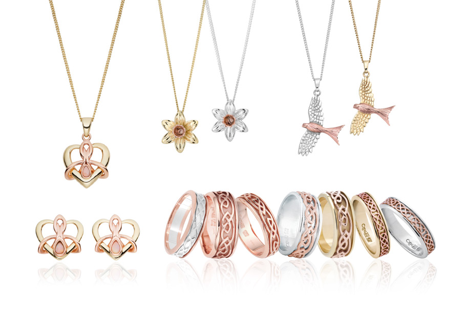 Clogau jewellery with Welsh gold