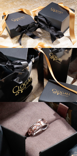 Clogau gift wrapping