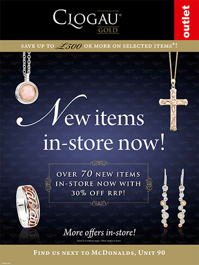 Over 70 new arrivals in-store with 30% off RRP!