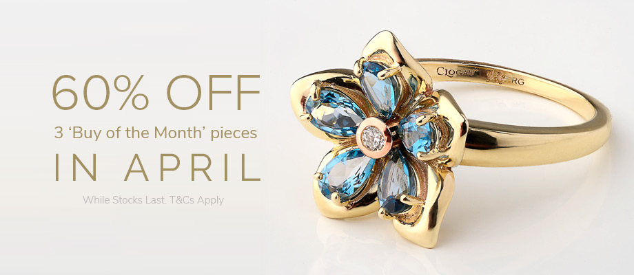 April offers at the Clogau Outlets