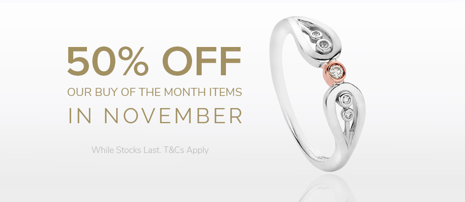 November offers at the Clogau Outlets